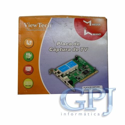 video-captura-tv-pci-view-tech-ntscfm-oem