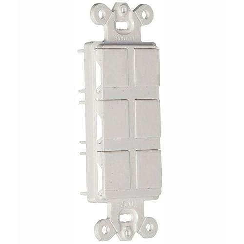 claro-6-port-frame-ca-6pf-wh-branco-box